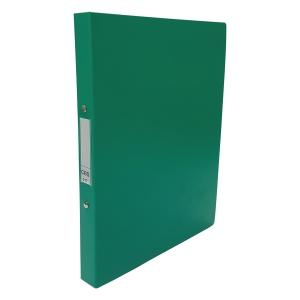 CBS A4 2-Ring Binder 25mm Green