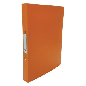 CBS A4 兩孔文件夾 25毫米 橙色