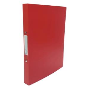CBS A4 兩孔文件夾 25毫米 紅色