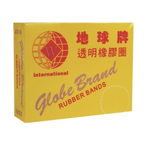Globe Rubber Band 1.75 inch - Box of 70g