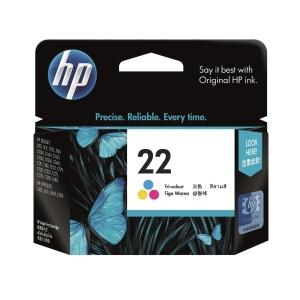 HP C9352AA 22 墨水盒 彩色