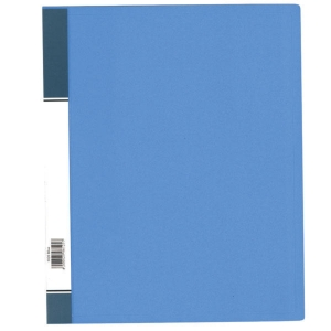 Data Base 3040 Refillable Clear Book 40 Pockets A4 Blue