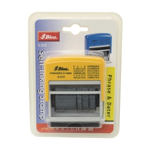 Shiny S-312 12-in-1 Multi-Functional Dater Stamp 3mm