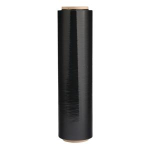 黑色綑箱拉膜 450毫米 x 144碼 - 3吋卷芯