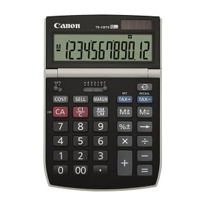 Canon TS 120TS Desktop Calculator 12 Digits
