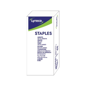 Lyreco No.B8 Staples - Box of 5000
