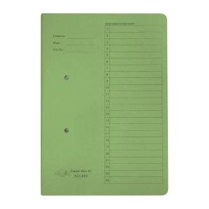 JIFFEX 紙皮彈簧快勞 F4 綠色
