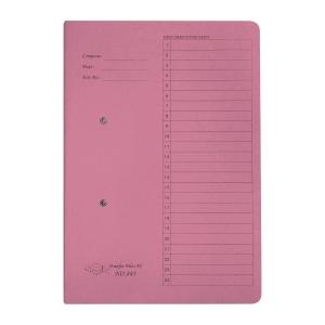 JIFFEX 紙皮彈簧快勞 F4 粉紅色