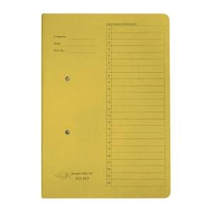 JIFFEX 紙皮彈簧快勞 F4 黃色
