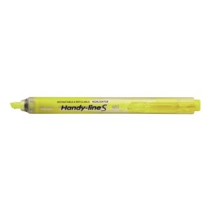Pentel Handy-Line S Retractable Highlighter Yellow