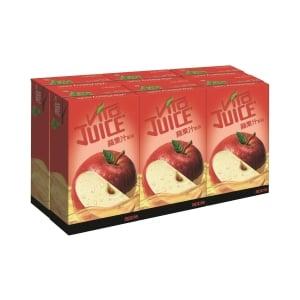 維他蘋果汁250毫升 - 6包裝