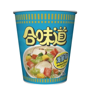 日清合味道杯麵 海鮮味 75克