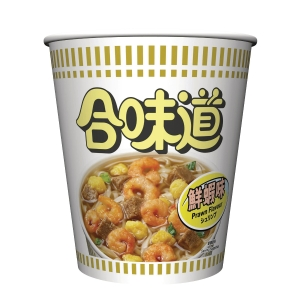 NISSIN 日清 合味道杯麵 蝦味 75克