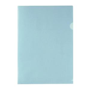 E310 膠文件套 A4 粉藍色 - 每包12個
