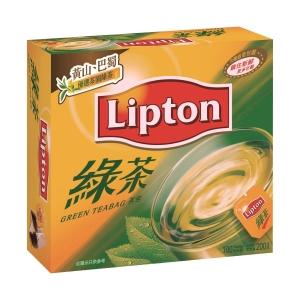 立頓 中國綠茶茶包 - 100包裝