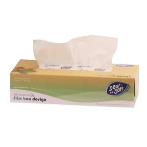親柔精裝版盒裝紙巾 - 200張裝
