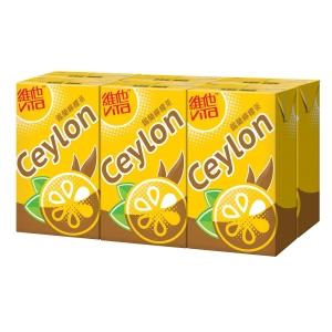 鍚蘭檸檬茶250毫升 - 6包裝