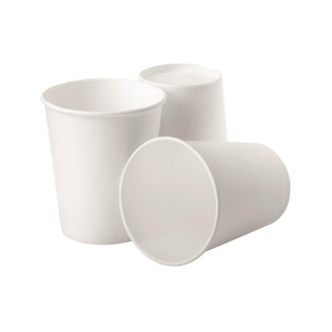 White Hot Drink Paper Cup 8oz - Pack of 50
