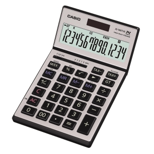 CASIO JS-140TVS Desktop Calculator 14 Digits
