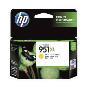 HP CN048AA 951XL 墨水盒 黃色