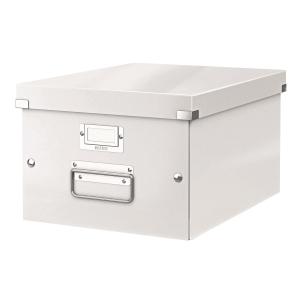 利市 Click & Store 儲存盒 白色 (適合存放A4文件)