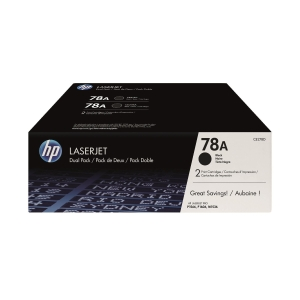 HP 78A 碳粉盒黑色 CE278AD 孖裝