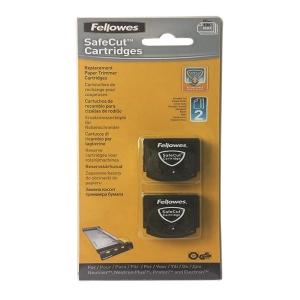Fellowes SafeCut 直線切割刀片- 2件裝