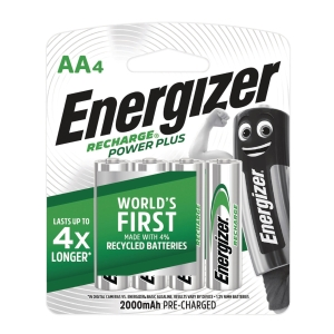 勁量 全能型充電池 AA 1500mAh - 4粒裝