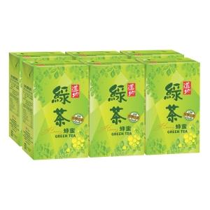 Tao Ti 道地 蜂蜜綠茶250毫升 - 6包裝