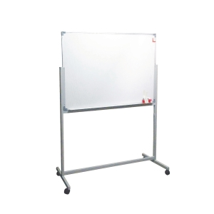 Double-Sided Magnetic Whiteboard 90 x 120 with Stand