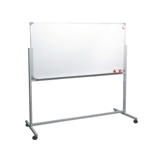Double-Sided Magnetic Whiteboard 90 x 180 with Stand