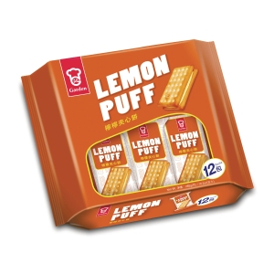 嘉頓 檸檬夾心餅 - 12包裝