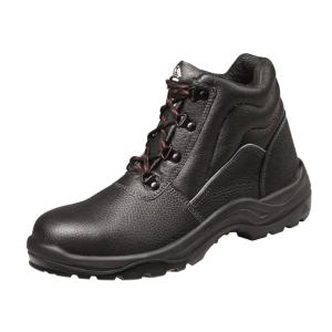 BATA SIROCCO 鋼頭/鋼底壓花牛皮安全靴 39碼