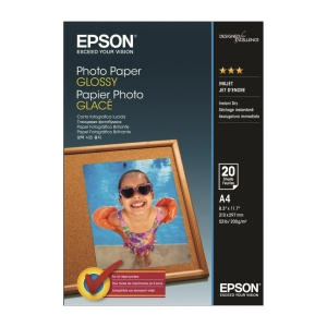 Epson S042538 A4 Glossy Photo Paper 200gsm - Pack of 20