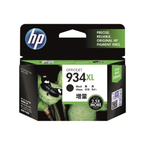 HP C2P23AA 934XL 墨水盒 黑色
