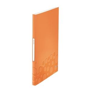 Leitz 利市 WOW 40頁資料簿 A4 橙色