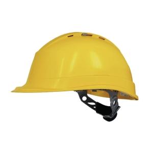 Delta Plus Quartzup Iv Safety Helmet Yellow
