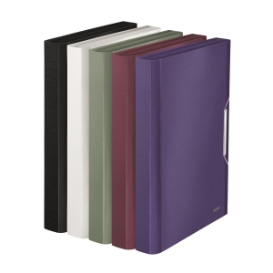 利市 STYLE 系列風琴文件袋 藍鋼