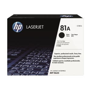 HP CF281A 鐳射碳粉盒 黑色