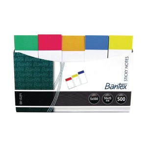 Bantex Paper Sticky Note 15mm x 50mm