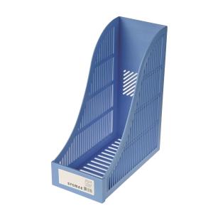 SYSMAX 仕嘜牌 A4 雜誌架 淺藍色