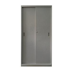 四層灰色雙移門鋼櫃
