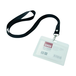 UHOO ID Card with String 85 x 54mm (Landscape)