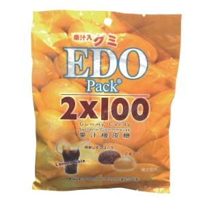 EDO 江戶 橡皮糖 檸檬可樂及芒果味 120克
