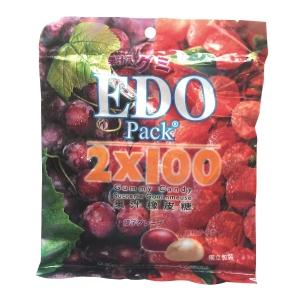 EDO Pack Gummy Lychee & Grape 120g