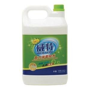 威特 高力消毒綠水 3.8公升