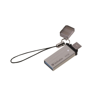 Verbatim OTG USB 3.0 64GB 迷你記憶棒