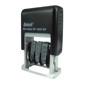 Deskmate 德士美 RP-1822 D4 BK 自動回墨日期印 黑色 4mm