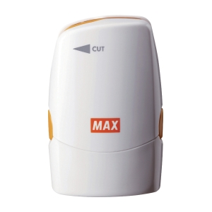 MAX MX SA-151RL/W Secure Stamp with Letter Opener White