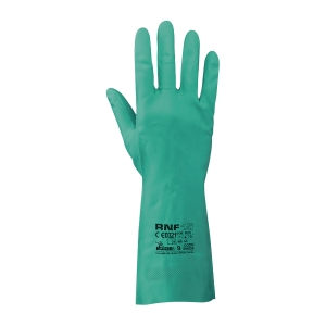 Rubberex RNF15 Nitrile Chemical Resistant Gloves L
